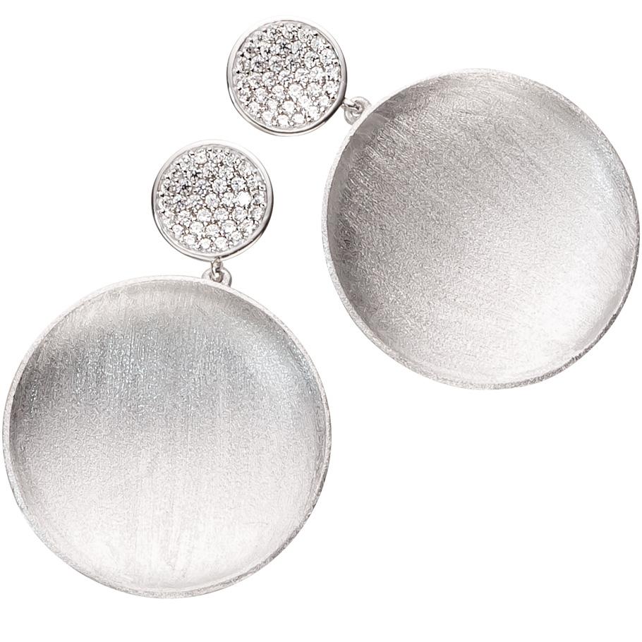 ratius Ohrschmuck 11<br>925 Sterling Silber, Zirkonia