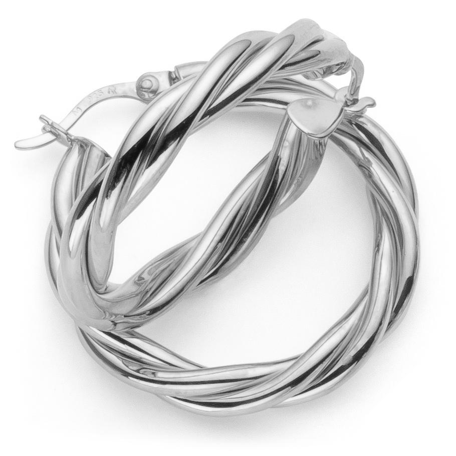 ratius Ohrschmuck 30<br>925 Sterling Silber, poliert