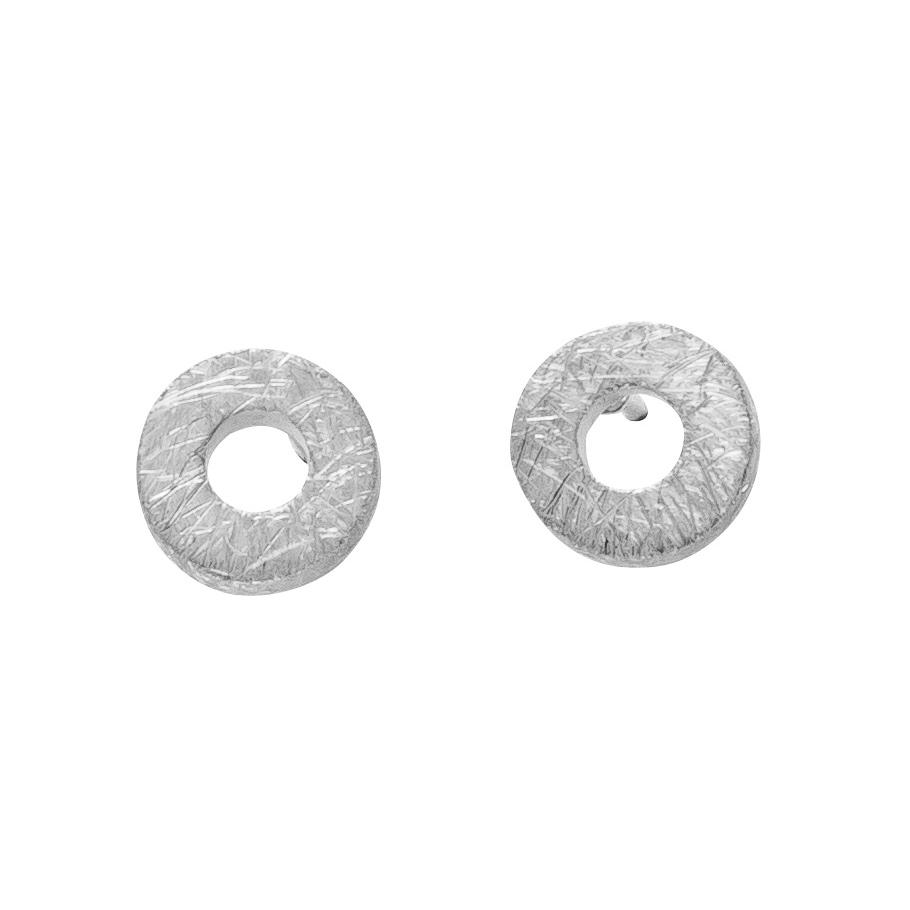 ratius Ohrschmuck 62<br>925 Sterling Silber, kratzmatt