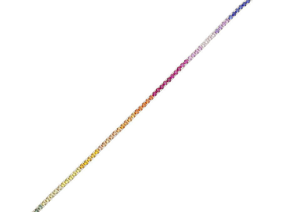 ratius Armschmuck Silber Regenbogen