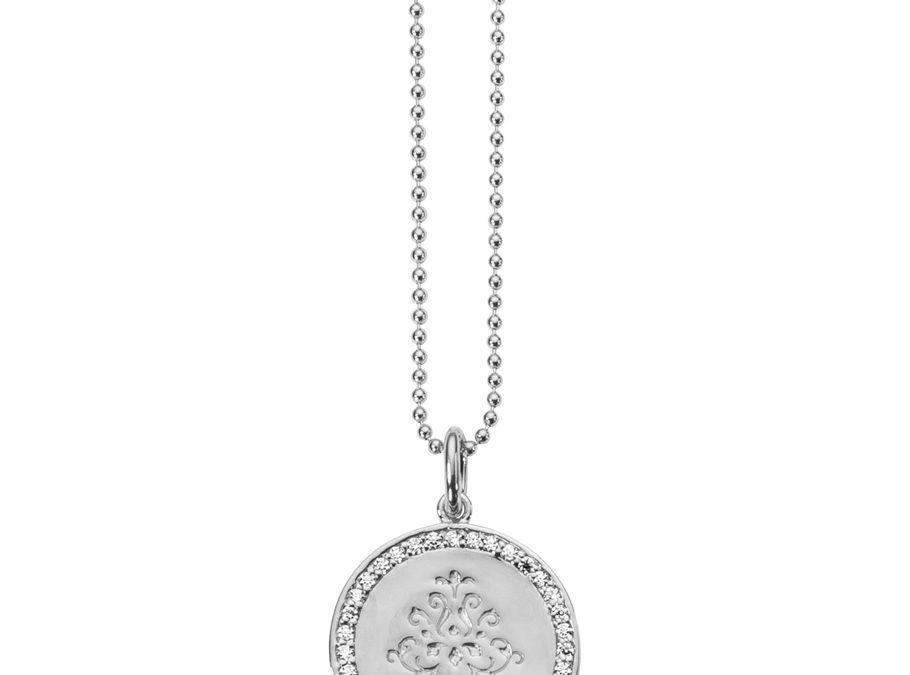 ratius Halskette 64925 Sterling Silber, Zirkonia