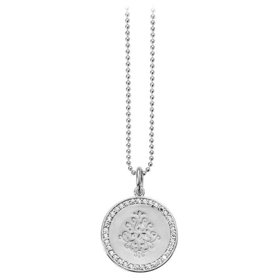 ratius Halskette 64<br>925 Sterling Silber, Zirkonia
