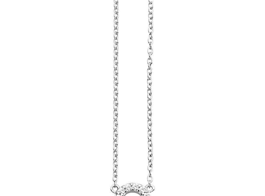 ratius Halskette 66925 Sterling Silber, Zirkonia