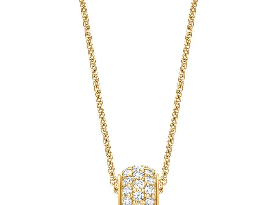 bellaluce Collier EH005568Gelbgold mit Brillanten