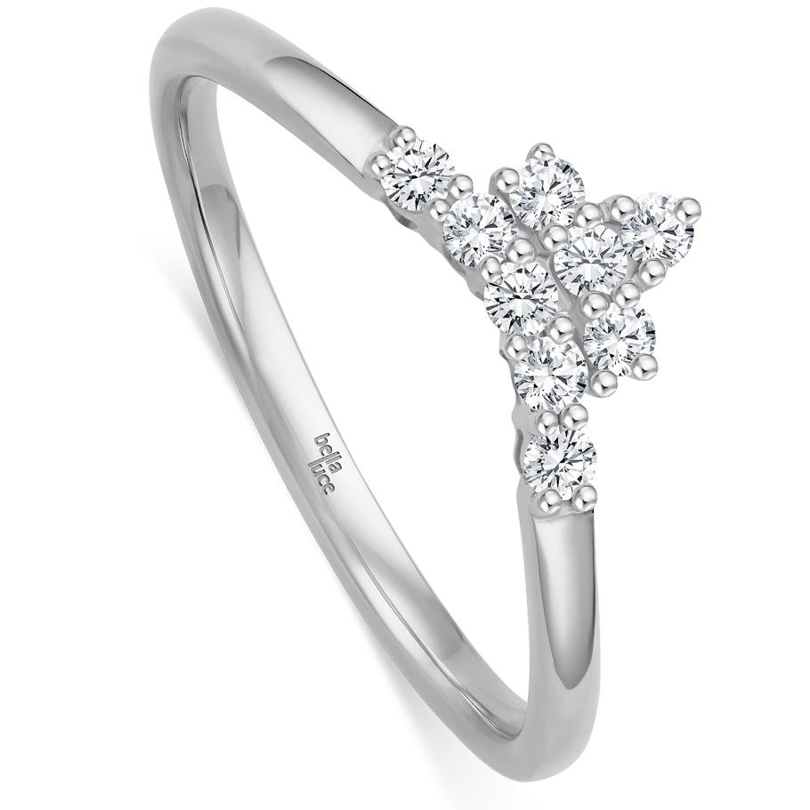 bellaluce Ring EH005370<br>Weißgold mit Brillanten