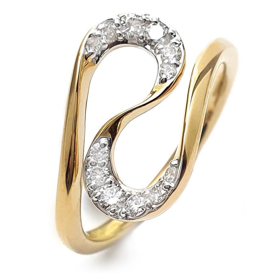 bellaluce Ring EH005414<br>Gelbgold mit Brillanten