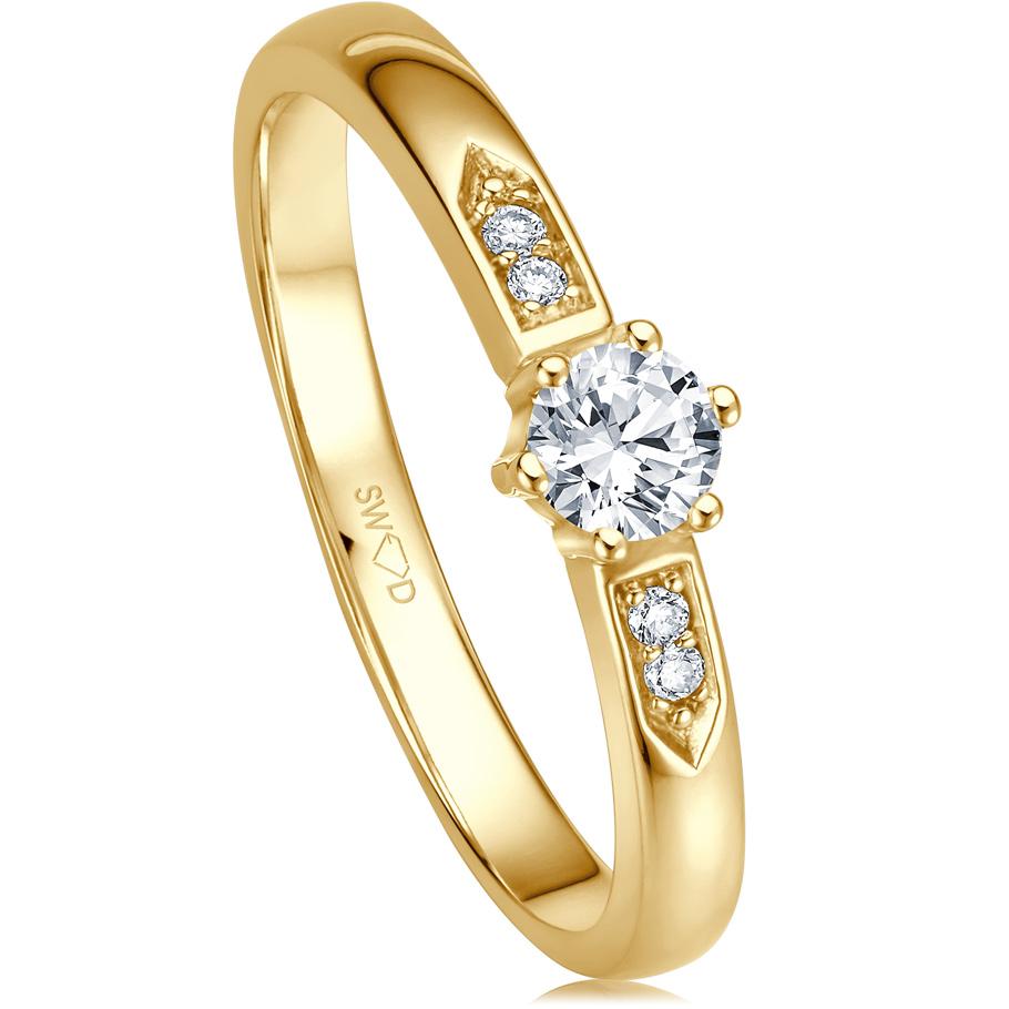 bellaluce Ring EH003142<br>Gelbgold mit Brillanten
