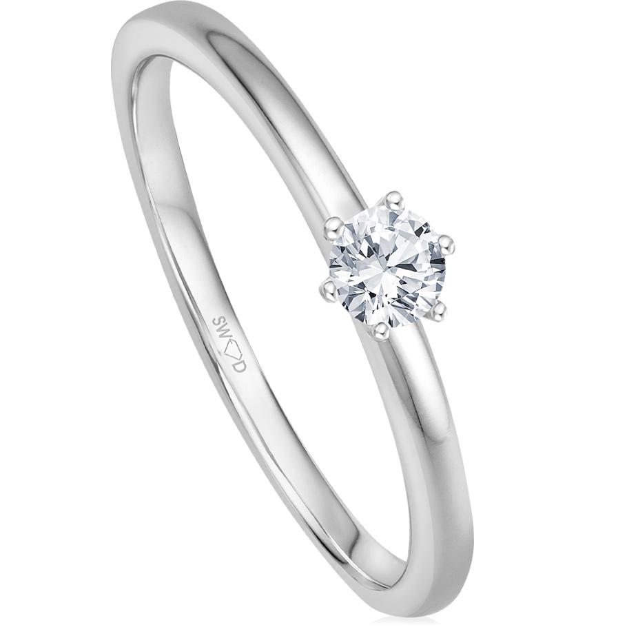 bellaluce Ring EH005125_WG<br>Weissgold mit Brillanten