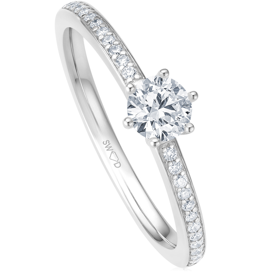 bellaluce Ring EH005582<br>Weissgold mit Brillanten
