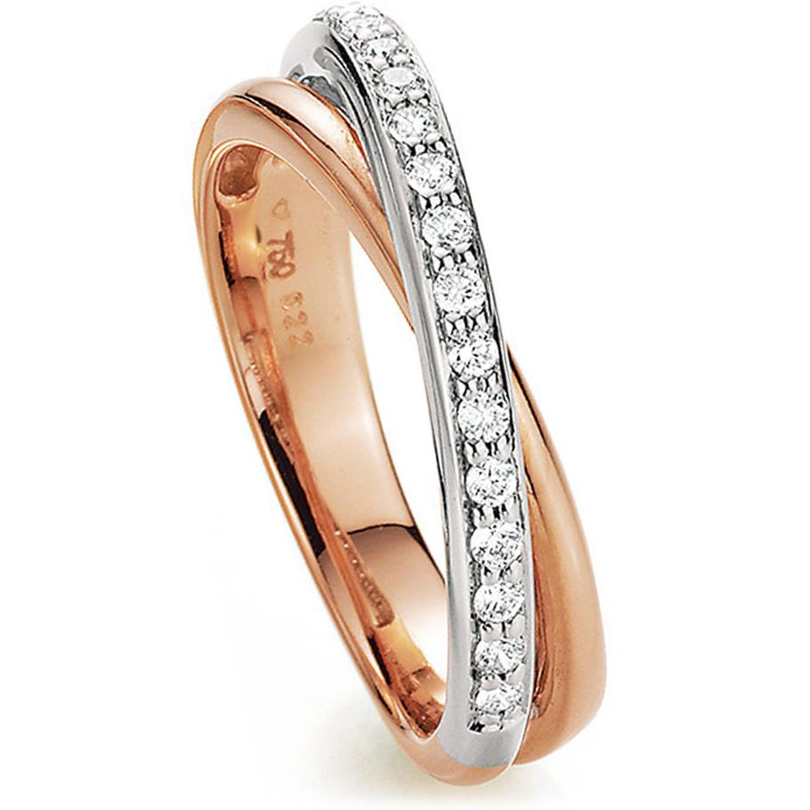 noor Ring 14962000R7<br>Rotgold mit Brillanten