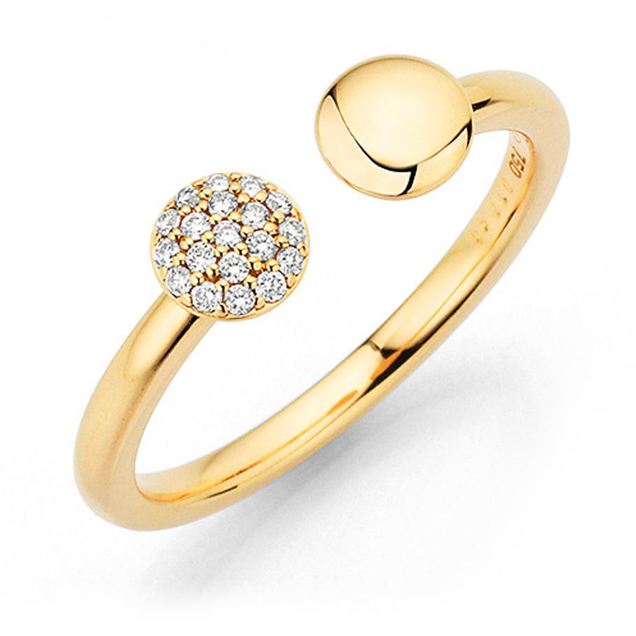 noor Ring 15644000R5<br>Gelbgold mit Brillanten